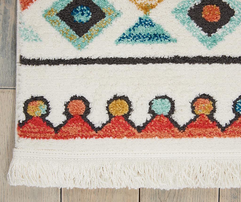 Tepih Navajo Six White 160x229 cm
