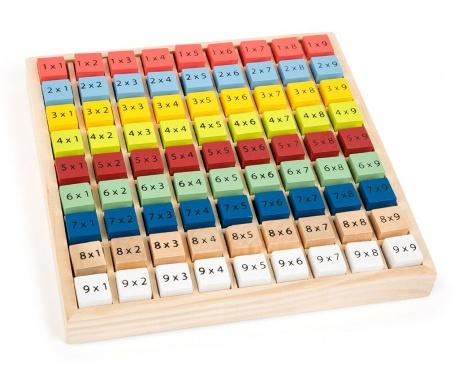 Igra tablica množenja Colourful Educate