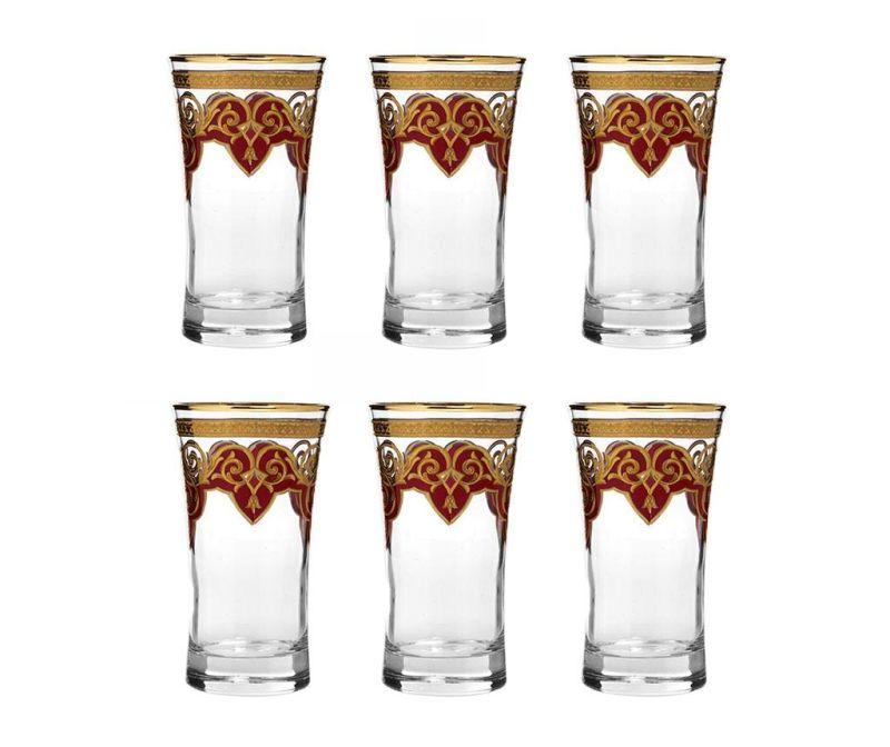 Diamond Ottoman Red 6 db Pohár 300 ml