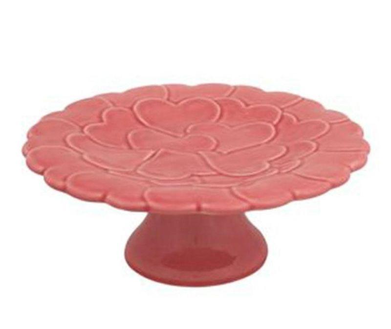 Heart Pink Talpas tál