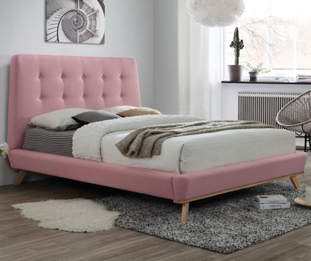 Postel Dalia Pink 160x200 cm