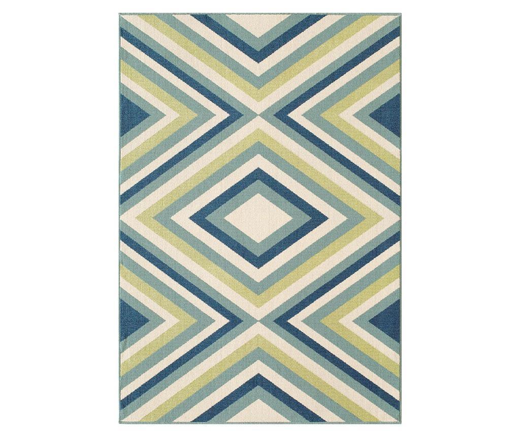 Preproga Rombi Blue & Green 160x230 cm