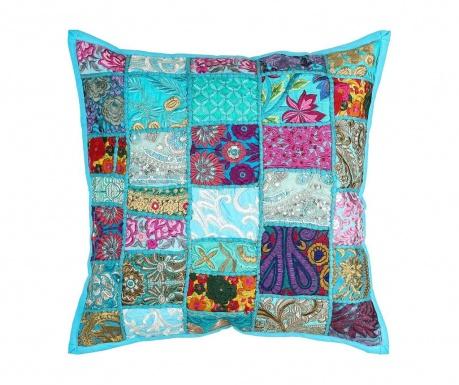 Poduszka dekoracyjna Ethnic Turquoise 50x50 cm