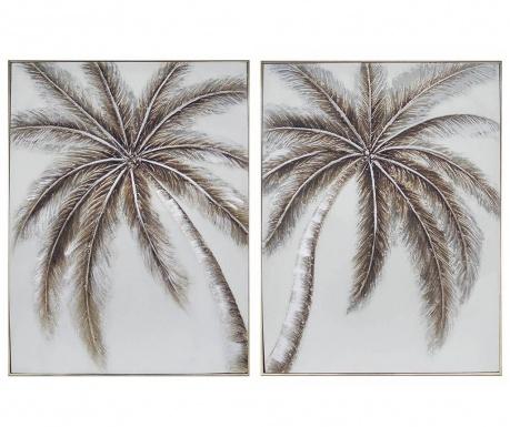 Palm Trees 2 db Kép 61x81 cm