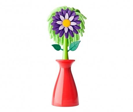 Metlica za prah s stojalom Flower Shop
