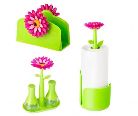 Σετ κουζίνας 5 τεμάχια Flower Power