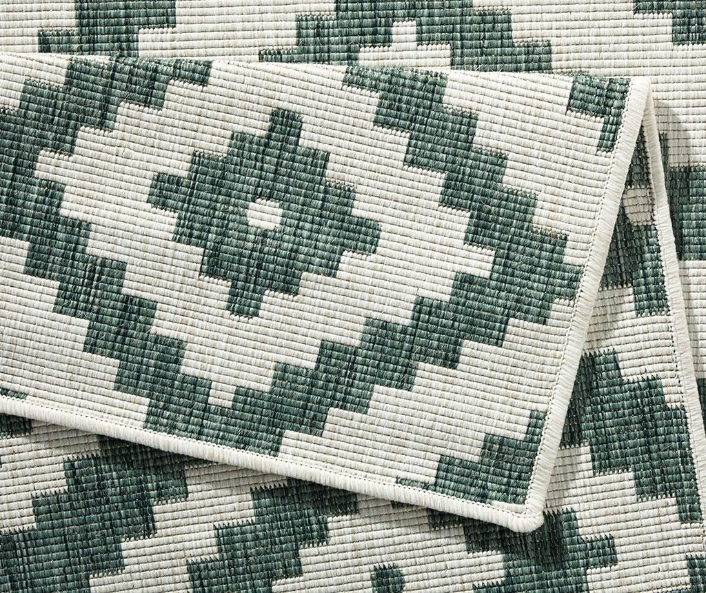 Twin Malta Green Cream Megfordítható szőnyeg 120x170 cm