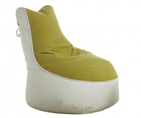 Пуф Quinton Comfort White  Lime