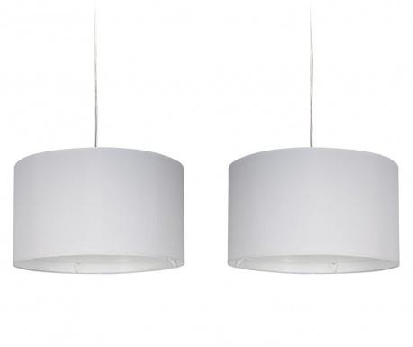 Závesná lampa Amos Double