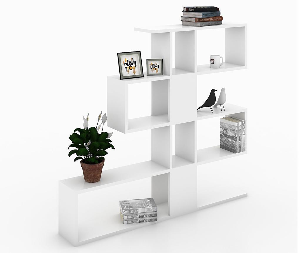 Karlin White Könyvszekrény