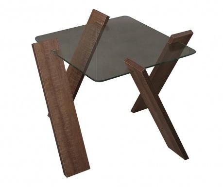 Roman Mini Dark Dohányzóasztal