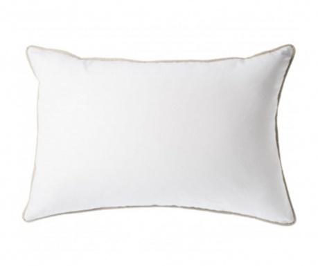 Dekoračný vankúš Vivo White Wide 30x50 cm