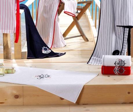 Kúpeľňová predložka Rope Red 50x90 cm