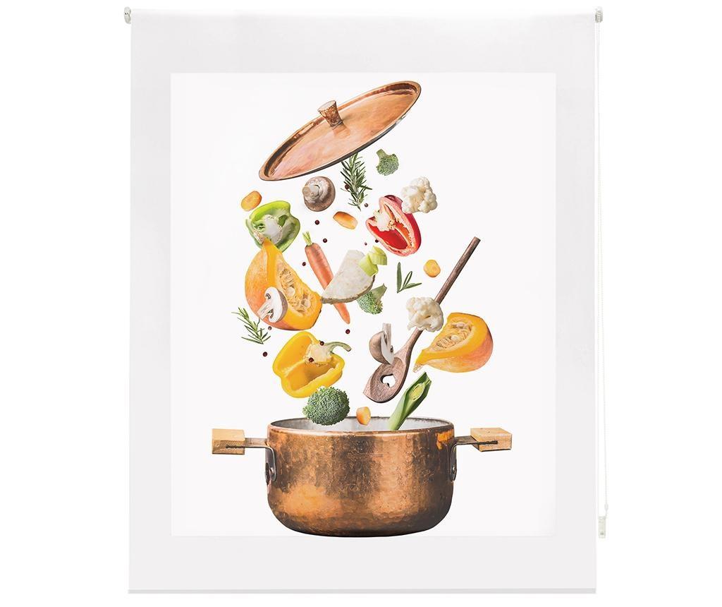 Sliced Vegetables Roletta 100x250 cm