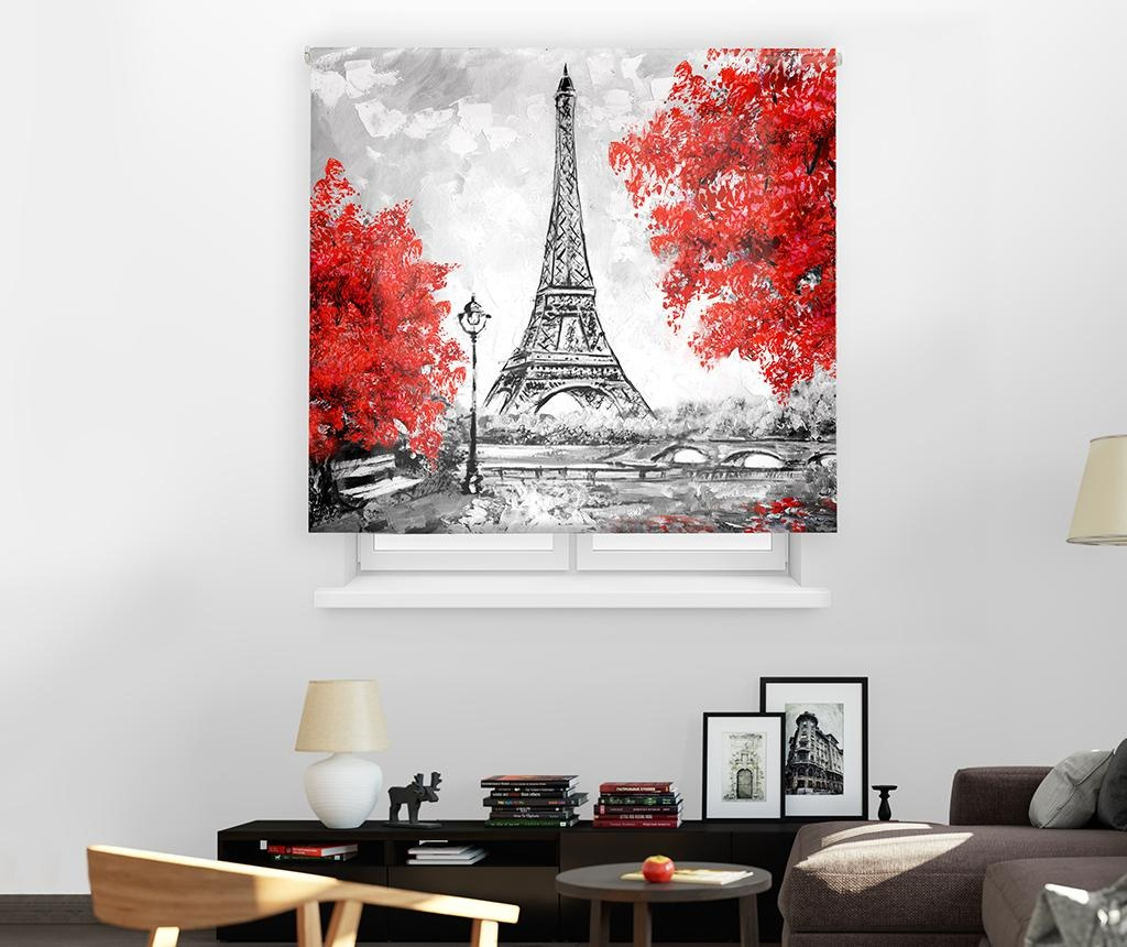 Jaluzea tip rulou Eiffel Tower 140x250 cm