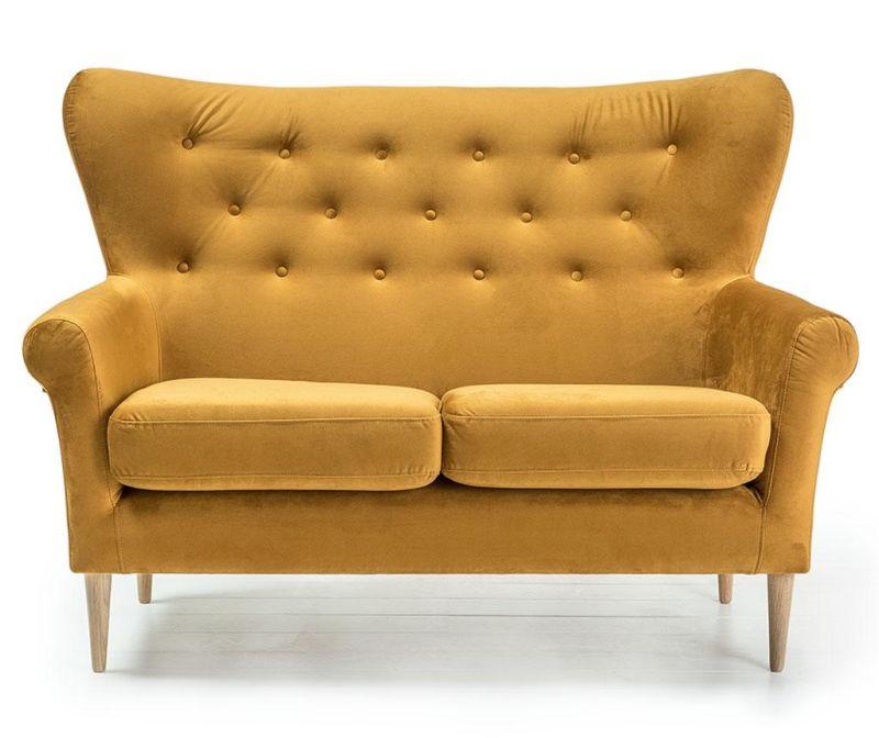 Canapea 2 locuri Amelie Golden