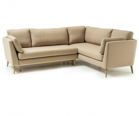 Разтегателен ляв ъглов диван Jane Beige