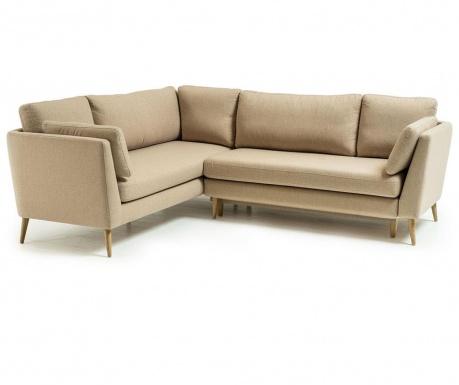 Разтегателен десен ъглов диван Jane Beige