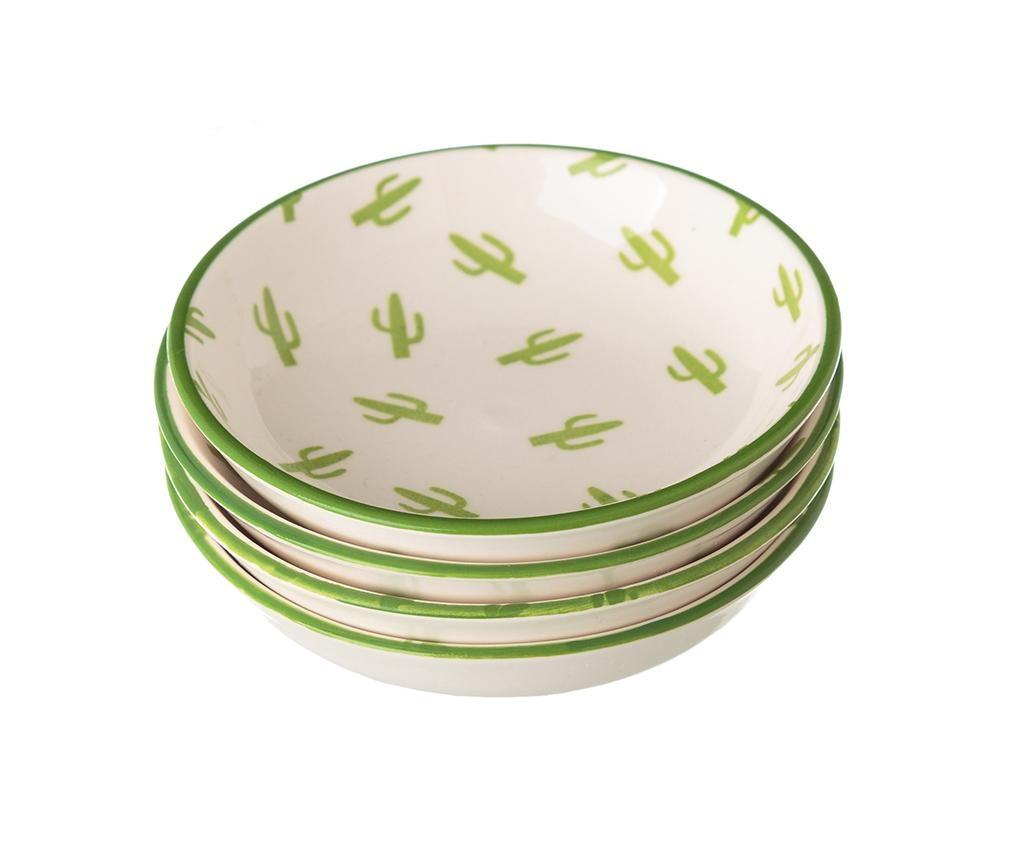 Sada 4 tanierikov Cactus