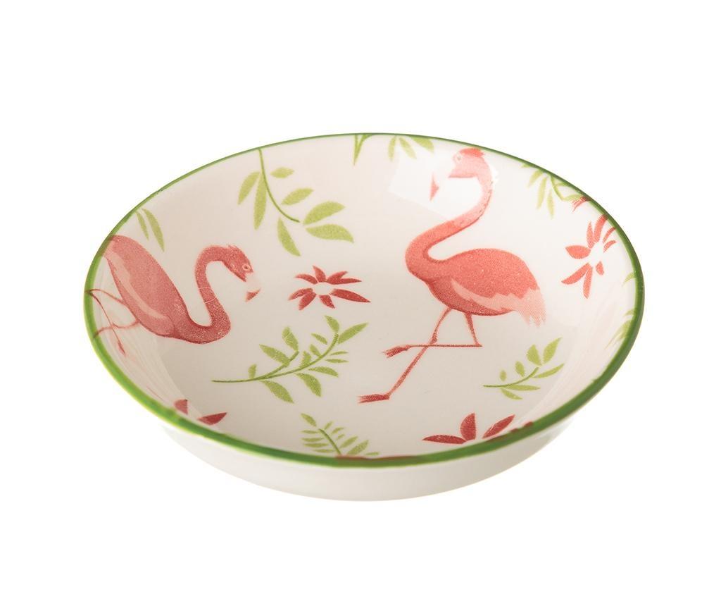Sada 4 tanierikov Flamingo