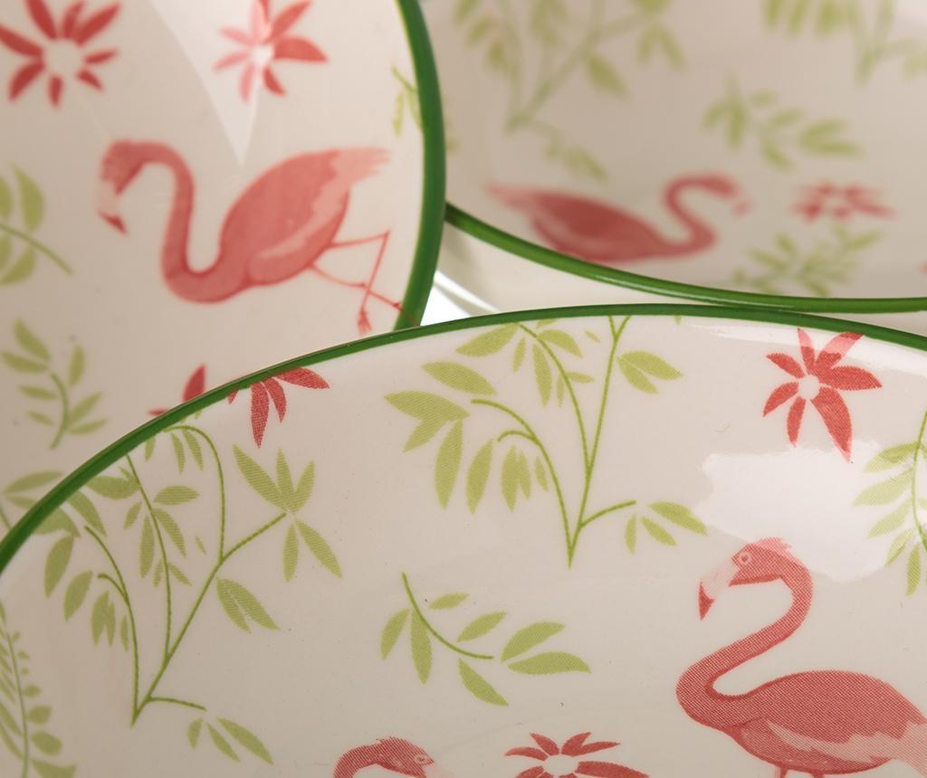 Sada 4 mís na predjedlo Flamingo Light
