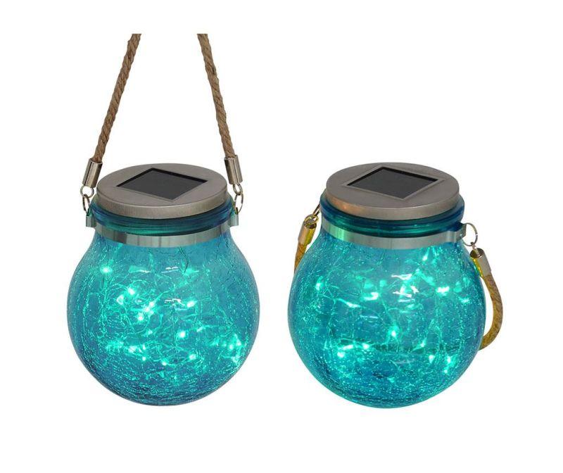Set 2 lampi solare Frozen Aqua