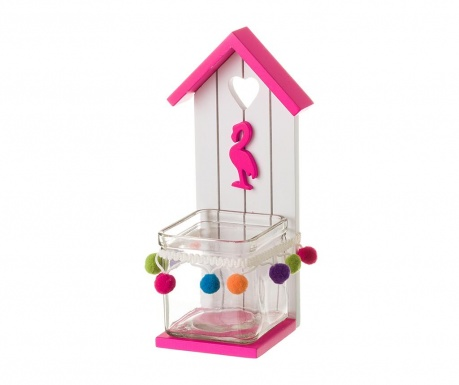 Κηροπήγιο House Flamingo Pink