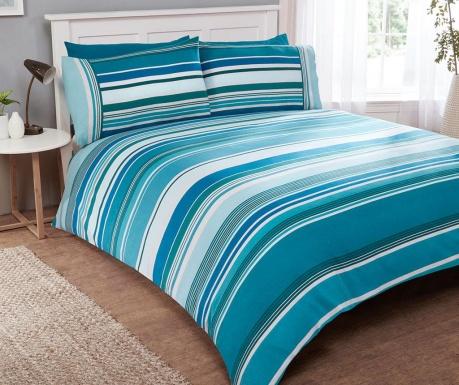 Zestaw na łóżko Double Stratos Teal