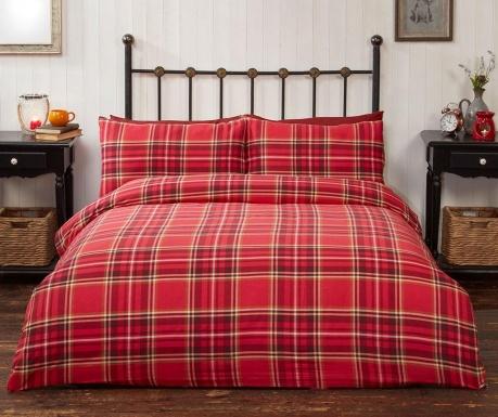 Zestaw na łóżko Double Campbell Red