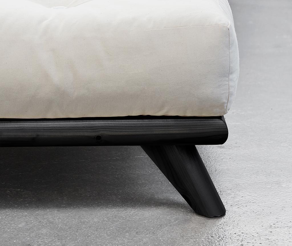 Krevet Senza Black 160x200 cm
