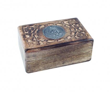 Pudełko z pokrywką Bouddha