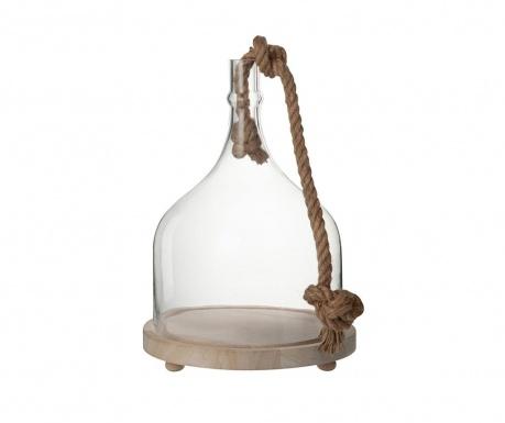 Sklenený zvonec s podstavcom Nature Call Design