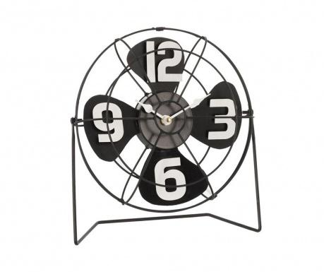 Stolové hodiny Fan Black