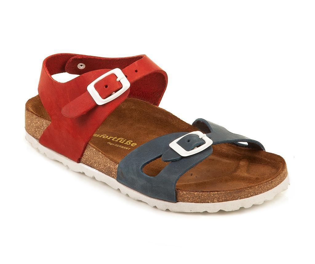 Dětské sandály Bady Navy Red 33