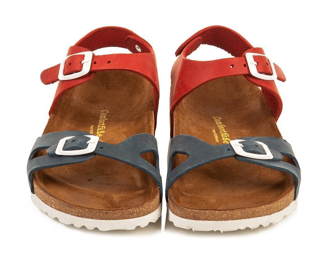 Otroški sandali Bady Navy Red 32