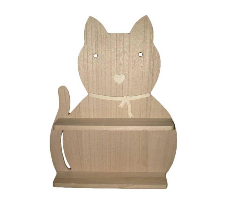 Raft de perete DIY Piani Cat