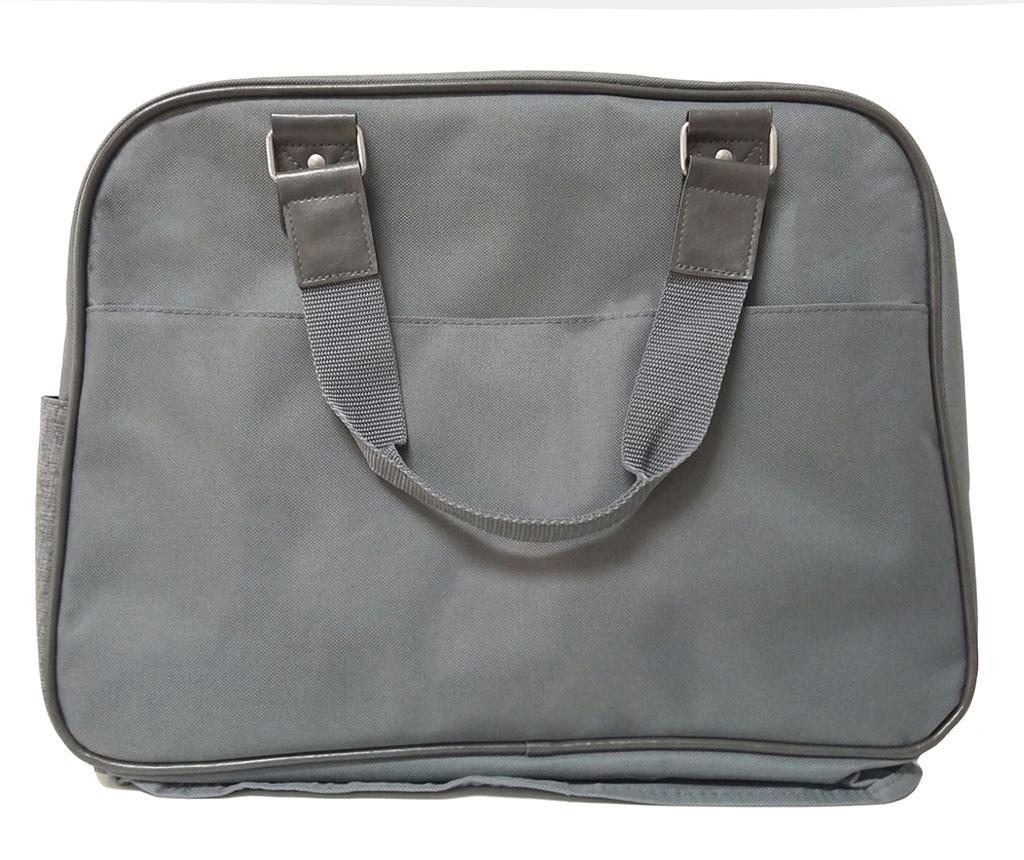 Set torba, sklopivi madrac za mijenjanje pelena i držač za bocu Life Grey