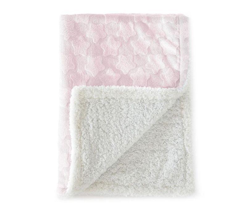 Pled Estrellas Pink 110x140 cm