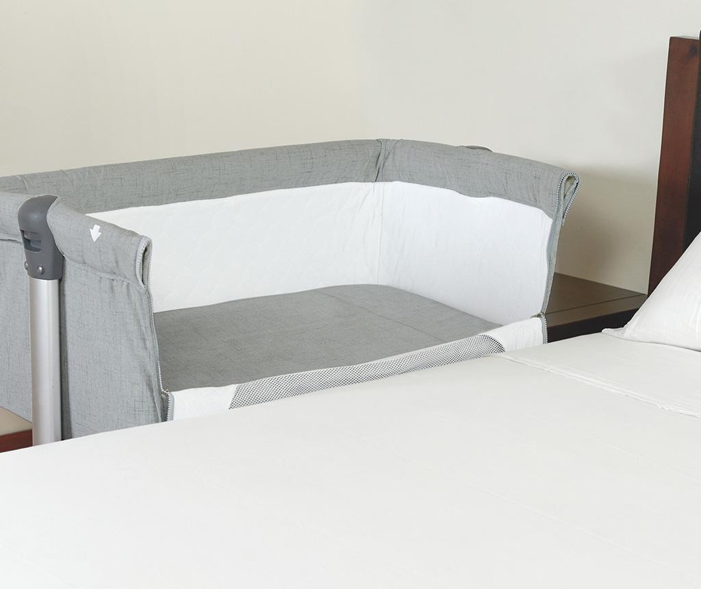 Set krevetić i dodaci Liso Grey