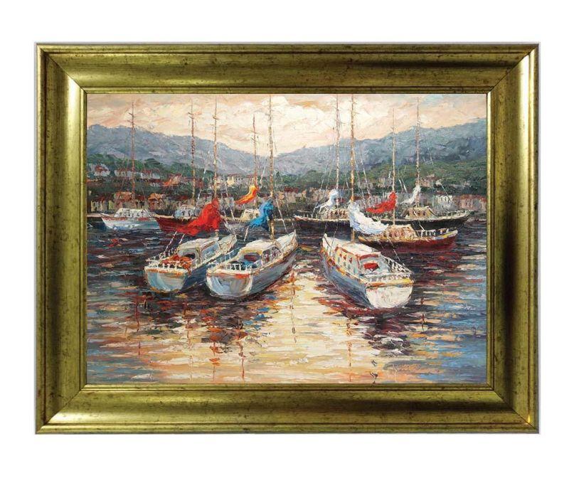 Slika Boats 50x70 cm