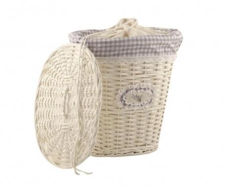 Košara za rublje s poklopcem Lavander