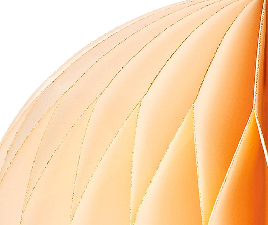Závesná dekorácia Decadent Honeycomb Cream