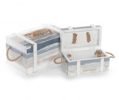 Комплект 2 кутии с капак Sea