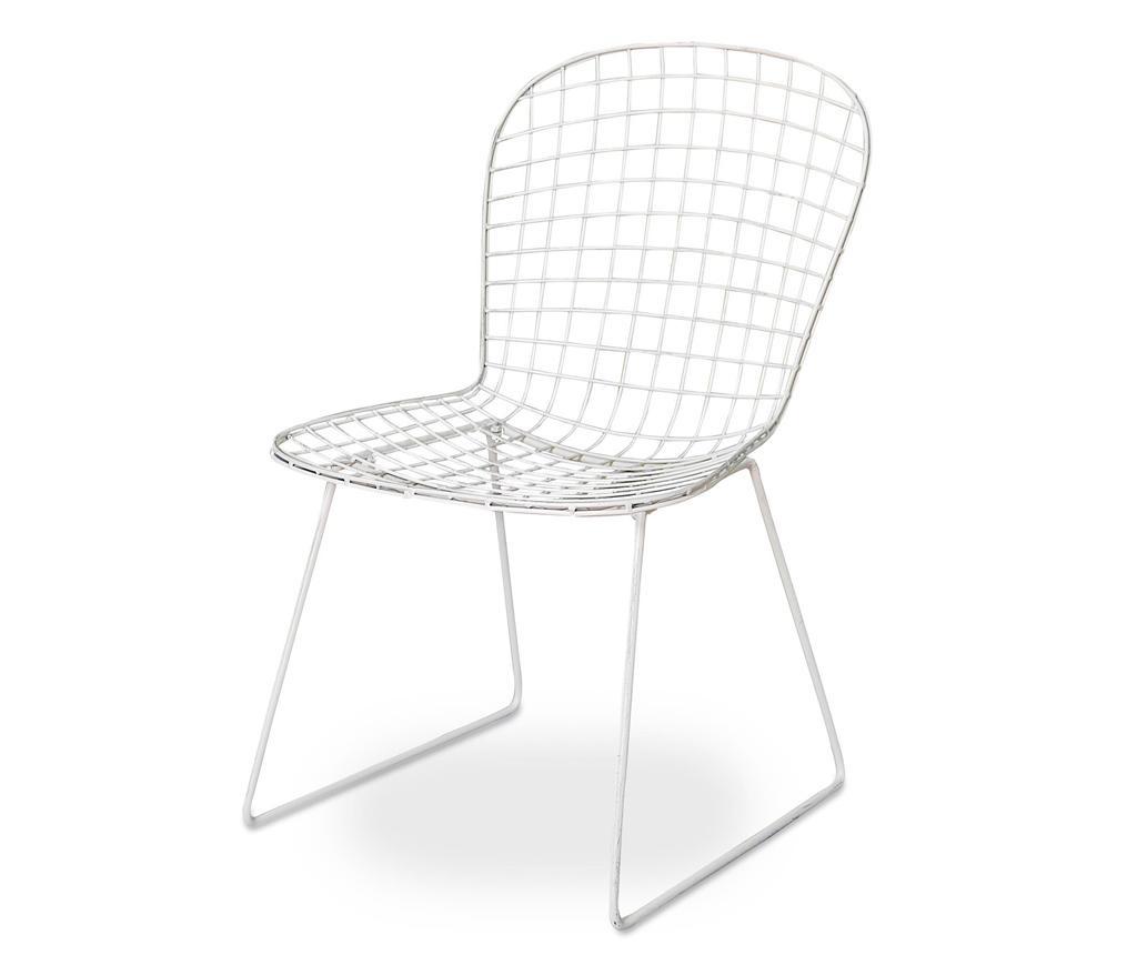 Vrtni stol Rete White