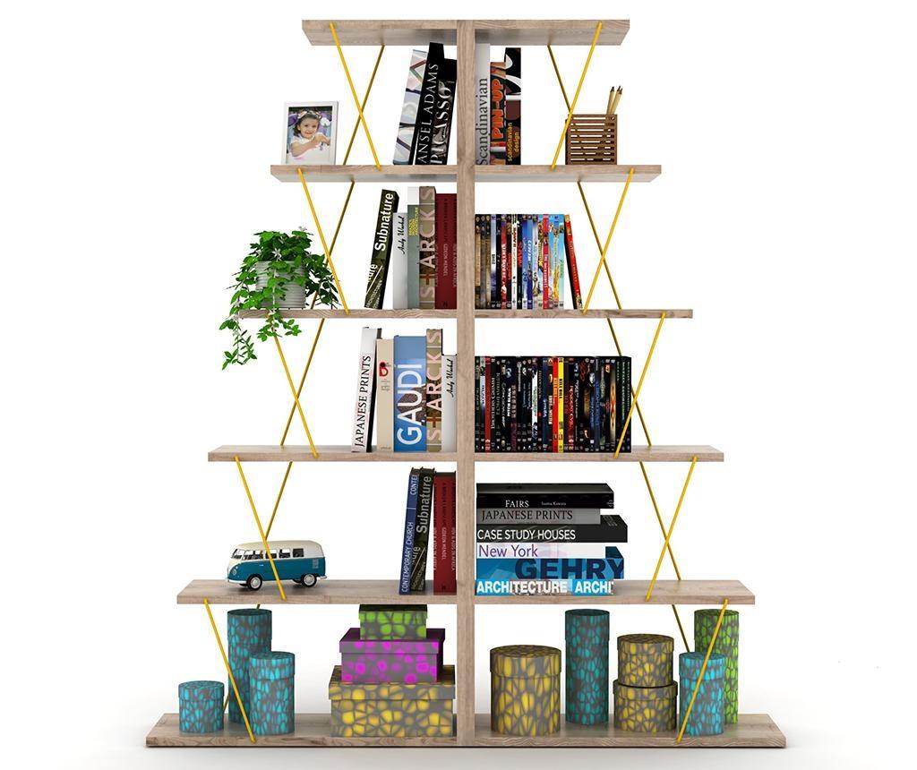 Corp biblioteca Tars Oak Yellow