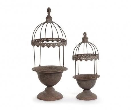 Σετ 2 γλάστρες Cage