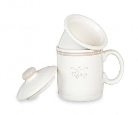 Κούπα με εγχυτήρα και καπάκι Little Hearts Cup 200 ml