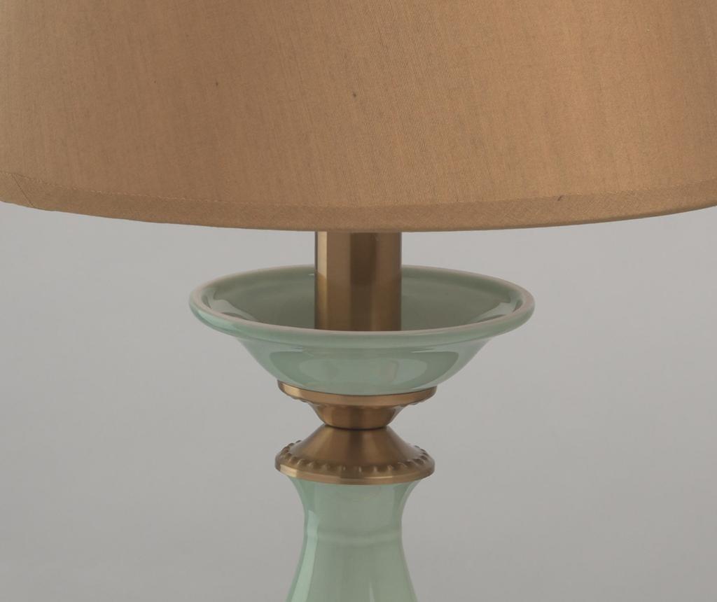 Namizna svetilka Bella Brown Green
