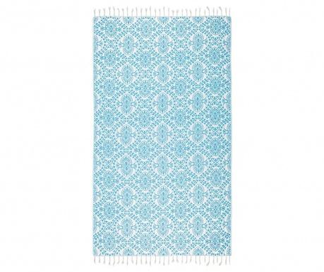 Πετσέτα μπάνιου Pestemal Bianca Soft Turquoise 100x165 cm