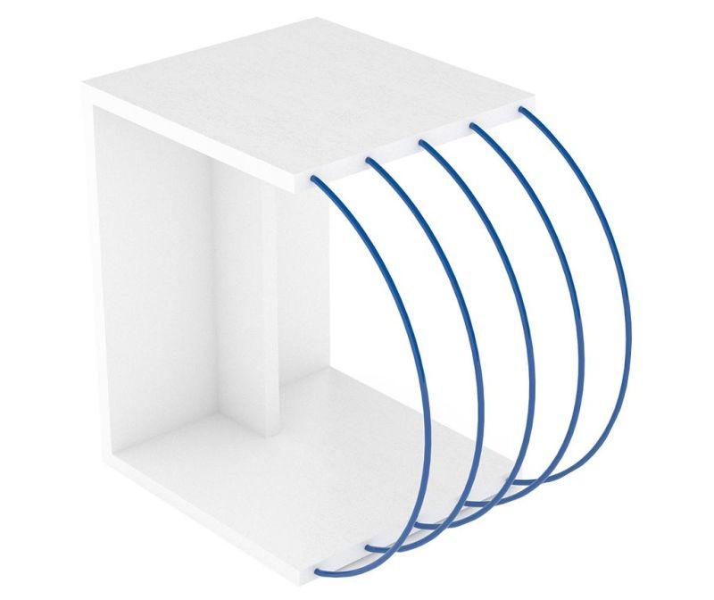 Stolić Case White Blue